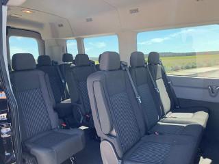 shuttleoregon.com - Ford Transit 350 XLT interior