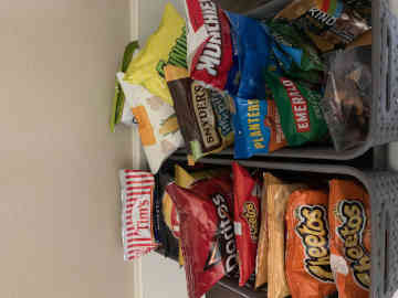 Shuttle Oregon offers snacks for your trip
