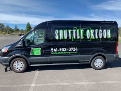 Shuttle oregon vehicle side view