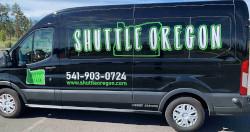 Shuttle oregon vehicle side view