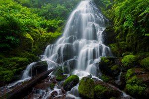 waterfalls- Columbia River Gorge